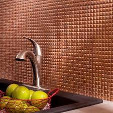 Fasade Decorative Thermoplastic Panels Home Depot by Fasade 24 In X 18 In Squares Pvc Decorative Backsplash Panel In