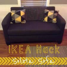 ikea hack solsta sofa bed home decor pinterest solsta sofa