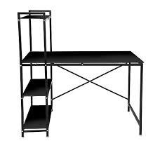 bureau etagere bureau avec étagère book up 2 noir