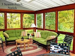 interior of 3 season porch 3 4 season rooms photo gallery