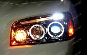 05 10 dodge charger chrome dual ccfl halo projector headlights
