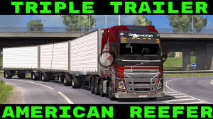 ETS2 Mods - Triple Trailer - American Reefer - Euro Truck Simulator ... Custom Peterbilt Show Truck Trucks Pinterest Peterbilt Ets2 Mods Triple Trailer American Reefer Euro Simulator 2005 379 Triple Axle Semi Truck Item D4174 Sol Steam Workshop Best For Ets 2 131x Version R Diesel They Named This Project One Trucks Mrtruck News You Can Use Truspickup Free And Suv Gray Wpls185 74000 Lb Capacity Wireless Portable Lift System Us About Us Solutions Rc Adventures Chrome King Hauler Liebherr Loader On Axle Tamiya Pulls 8x8 Tipper Top 5 Of The 2015 Sema Autoguidecom
