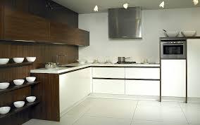 l form küche luxio mx in weiß und dunklem holz