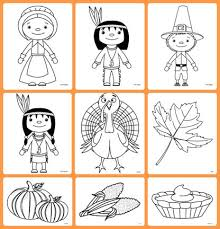 Thanksgiving Coloring Pages Via Gift Of Curiosity Nine Are Available In This Fun Set Free Printables