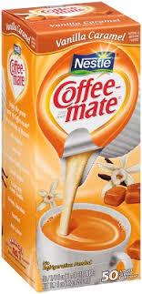 Coffee Mate Vanilla Caramel Liquid Cream 50ct