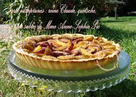 tarte aux prunes d ente sur pâte pour fruits juteux repérée sur