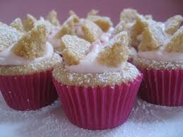 Brown Sugar Butterfly Cakes With Raspberry CreamPrint Recipe