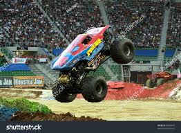 100 Spiderman Monster Truck WROCLAW POLAND OCTOBER 1 Jam Stock Photo Edit Now 85869679