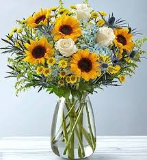 Premium Mixed Garden Bouquet Like a gathering of flowers picked