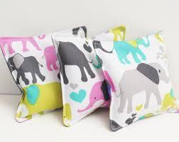 3 Cute Elephant Washable Bean Bags