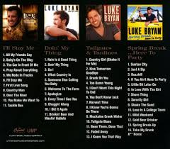 100 We Rode In Trucks 4 Album Collection By Luke Bryan Used On CD FYE