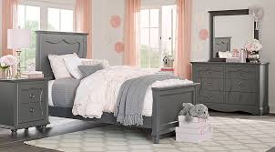 Lyla Charcoal 5 Pc Twin Panel Bedroom Teen Bedroom Sets Colors