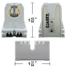 leviton 13351 t8 or t12 bi pin socket turn type