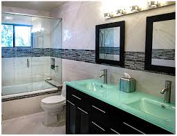 large format tiles the show at goldstein bathroom remodel in