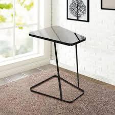 table de canapé lifewit table d appoint moderne bout de canapé à café table