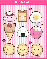 Kawaii Food 3 Images Wallpaper And Background Photos