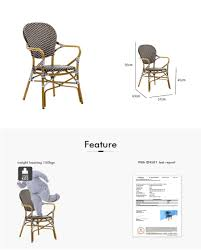 Outdoor Armrest Bistro Chairs Dining Furniture Manufacturers ... 9363 China 2017 New Style Black Color Outdoor Rattan Ding Outdoor Ding Chair Wicked Hbsch Rattan Chair W Armrest Cushion With Cover For Bohobistro Ica White Huma Armchair Expormim White Open Weave Teak Suma With Arms Natural Hot Item Rio Modern Comfortable Patio Hand Woven Sidney Bistro Synthetic Fniture Set Of Eight Chairs By Brge Mogsen At 1stdibs Wicker Derektime Design Great Ideas Warm Rest Nature