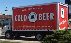 My Local Brewery Just Purchased A New Transport Truck : Funny