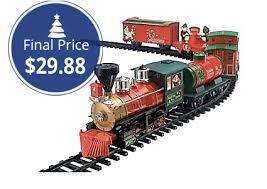 Train Set For Christmas Tree Home Depotscenic Model Buildingtoy Trains Videosho Three Way Turnout