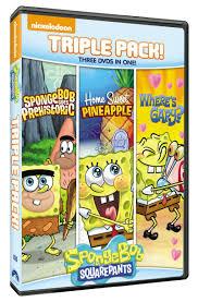 Spongebob Squarepants Bathroom Decor by Spongebob Squarepants Triple Feature Dvd Set Review U0026 Giveaway