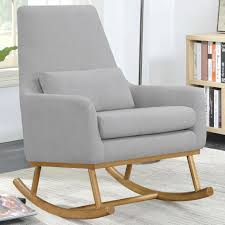 Mid-Century Contemporary Design Grey Upholstered Rocking ... Pads Target Grey Rocker Pad Gray Large Outdoor Cushions And Amazoncom Lazymoon Lounge Chair Nursery Glider And Ottoman Fnitures Fill Your Home With Cozy For White Rocking Royals Courage Lovely Build Woodarchivist Upholstered Swivel Side Chair Unknown About 1810 Mahogany Ash Hard Maple Identifying Chairs Thriftyfun Frames Low Armchair Expormim How To Recover A Photo Tutorial Shabby Chic Style Bedroom Fniture Appliques