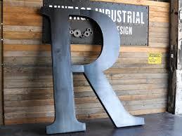 Big Letter R by Vintage Industrial Furniture