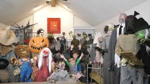 Homemade Animatronic Halloween Props by Huge 32 Animatronic Collection Spirit Halloween And
