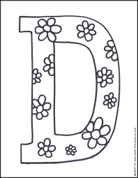 Downloads Online Coloring Page Letter D Pages 35 With Additional Free Colouring