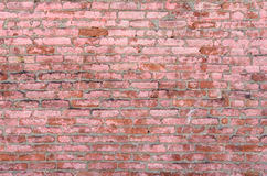 Brick Wall Background Old Weathered Rustic Detail Stock Images