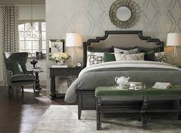 Emporium Upholstered Bed by Bassett Furniture Contemporary
