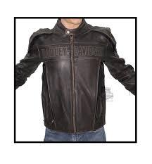 98002 11vm harley davidson mens roadway brown leather jacket