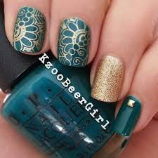 A Noble Combination Of Dark Turquoise And Golden Colors Belongs To Classical Color Patters Such
