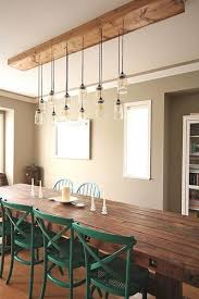nice rustic dining room lighting 17 best ideas about dining table