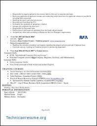 Sales Representative Duties And Responsibilities Resume Lovely Images For Insurance Manager Sample Technician Cv