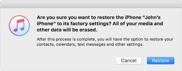 Restore your iPhone iPad or iPod to factory settings Apple Support