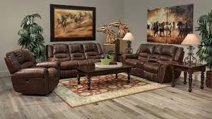 Broyhill Laramie Microfiber Sofa In Distressed Brown by Inspiration Ideas Gallery Furniture