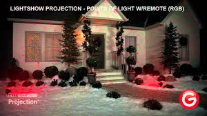 Lightshow© Projection Points of Light w Remote RGB