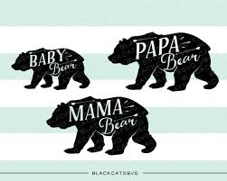 Bear Family Baby Mam Papa
