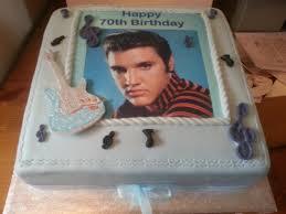 Dave s Elvis 70th birthday Cake ME Pinterest