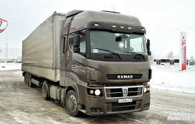 Trucker LT Nauji KAMAZ Vilkikai Su