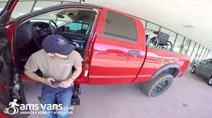 Truck Stow-Away Seat, Wheelchair Lift | AMS Vans - YouTube Atc Wheelchair Accessible Trucks Alabama Griffin Mobility Motorvation Pickmeup Pickups New Scooter Lifts Texas Lift Aids Llc Vehicle Cversion For Pwds Elifters Well Crap A Oil Change Turns Into Another Massive Build It Seems Multi Joey By Bruno Power Hmar Al500hd Platform Outside Charlies Whats New In Accessible Vehicles Braceworks Custom Pride Zeus 260 At Braunability Vangater Series Wheelchairs