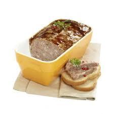 pâté de cagne rôti au four terrine de 1 5 kg auchan traiteur