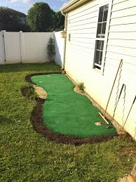 Little Bit Funky: How To Make A Backyard Putting Green! {DIY ... Backyard Putting Green With Cup Lights Golf Pinterest Synthetic Grass Turf Putting Greens Lawn Playgrounds Simple Steps To Create A Green How To Make A Diy Images On Remarkable Neave Sports Photo Mesmerizing Five Reasons Consider Diy For Your Home Inspiration My Experience Premium Prepackaged Houston Outdoor Decoration Do It Yourself Custom