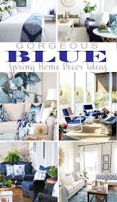 Gorgeous Blue Spring Home Decor Ideas
