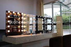 makeup vanity mirror with light bulbs mugeek vidalondon wall