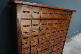 Vintage French Pine Apothecary Cabinet 1930s for sale at Pamono