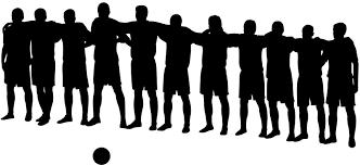 Soccer Team Silhouette