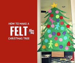 DIY How To Make A Felt Christmas Tree