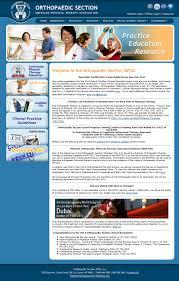 orthopedic section apta 28 images orthopt new member info