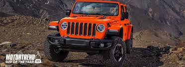 100 Motor Trend Truck Of The Year History 2019 Jeep Wrangler SUV Of The Millsboro CDJR